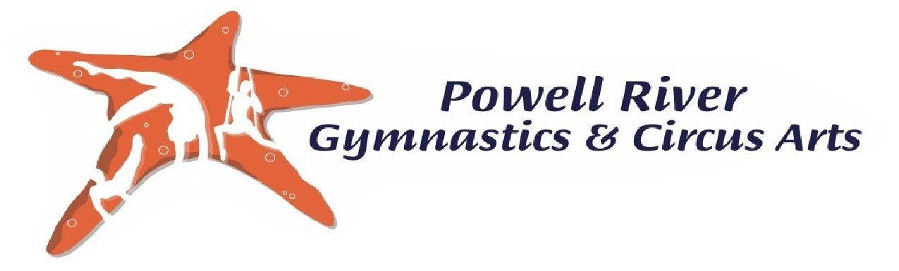 Powell River Gymnastics & Circus Arts Logo